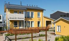Käpylä 163 - Piha | Asuntomessut Outdoor Decor, Home Decor, Decoration Home, Room Decor, Interior Design, Home Interiors, Interior Decorating