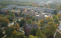 Aerial photo of #SIU campus