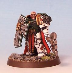 Mentor Legion Space marine commander W40k