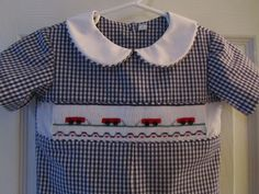 Smock, Sew and Be Merry: Little Red Wagons