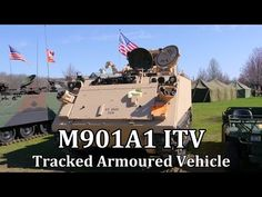 M901A1 ITV Tracked Armoured Vehicle