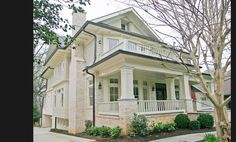 Atlanta Craftman Style Home (dream home) I love the giant front porches)
