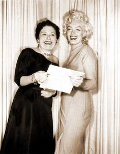 Marilyn appearing on Louella Parsons' Radio Show, May 20th 1953.