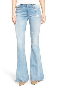 Hudson Women's Jeans Mia Flare Jeans In Aura Vintage Vibes, Hudson Jeans, Hippie Chic, Jeans Style, Flare Jeans, Bell Bottom Jeans, Nordstrom, Pants, Clothes