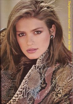 Gia Carangi by Denis Piel for Vogue, July 1979.