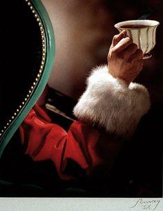 Murray, Nikolas (1892-1965) - 1940c. A Coffee, Santa Claus by RasMarley, via Flickr