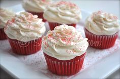 Phenomenal Red Velvet Cupcakes
