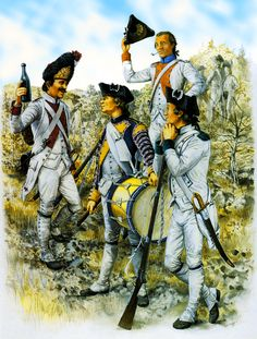 The French Grenadiers in the American War of Independence