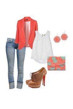 Office Lady Outfit and Christian Louboutin's Ankle Boots...Special Price: $151.99