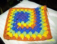 Patron granny en espiral - Patrones Crochet