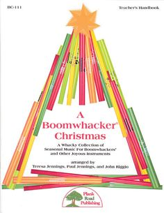 A Boomwhacker® Christmas - A Whacky Collection Of Seasonal Music For Boomwhackers® And Other Joyous Instruments arranged by Teresa Jennings, Paul Jennings, and John Riggio Elementary Christmas Concert, Elementary Music, Elementary Education, Art Therapy Activities, Music Activities, Preschool Music, Christmas Shows, Christmas Music, Christmas 2019