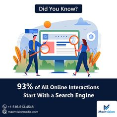 93% of all online interactions start with a search engine. Availing the right strategic #digitalmarketingservices will help to expand your business online. Contact #MachvisisonMedia today at +1 516-513-4548 or just DM us. #bestseocompanyinusa #bestdigitalmarketingcompanyusa #bestseoservices . . . . #ditalmarketingcompany #digitalmarketingexpert #digitalmarketingagencynewyork #seoexperts #socialmediamarketingservicesnewyork #ppcservicesnewyork #emailmarketingstrategy Best Digital Marketing Company, Digital Marketing Services, Companies In Usa, Best Seo Services, Email Marketing Strategy, Web Design Services, Print Ads, Search Engine, Online Business