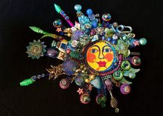 The Fantastic Bead Mosaics SUN Series  the bLuEpLaNeT  Wall ART.