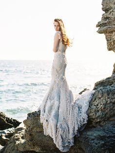 Warm Coastal Wedding Inspiration (Once Wed) Coastal Wedding Inspiration, Wedding Ideas, Wedding Unique, 1920s Wedding, Wedding Pictures, Wedding Details, Mermaid Photo Shoot, Fairytale Dress, Bridal Shoot