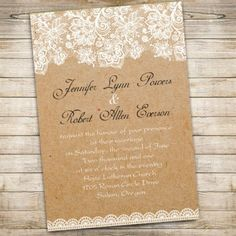 lace wedding invitations  loved by www.greekweddings.com