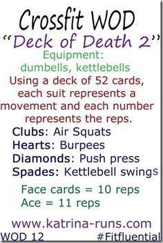 deck of death 2....agh any deck of death routines are good!