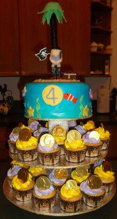 Pirate Cupcake Tower