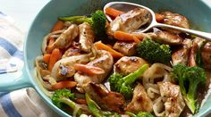 Raspberry jam, vinegar and soy sauce provide this one-pan dinner of chicken and vegetables with a medley of sweet, sour and salty flavors.
