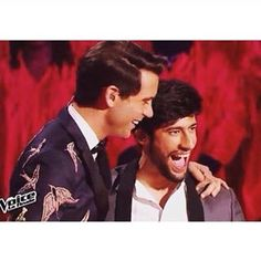 Mika and MB14 on The Voice France