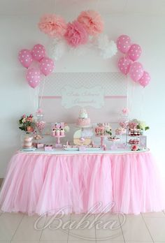 Little Wish Parties   Tutu Sweet Baby Shower   https://littlewishparties.com