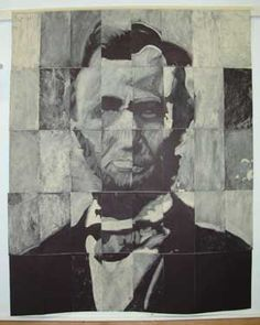 Here's a fun way to celebrate Abraham Lincoln's birthday - have your students make an Abe Lincoln mosaic. Click for instructions!