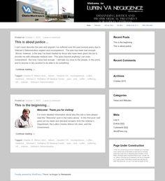 The new website.  It's a start!
