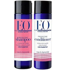 EO All Natural Organic Herbal Rose & Chamomile Protective Shampoo and Conditioner Bundle With Aloe Vera, Hibiscus, Chamomile, Calendula & White Tea For Color Treated Hair, 8.4 fl oz each - http://essential-organic.com/eo-all-natural-organic-herbal-rose-chamomile-protective-shampoo-and-conditioner-bundle-with-aloe-vera-hibiscus-chamomile-calendula-white-tea-for-color-treated-hair-8-4-fl-oz-each/