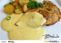 Kuřecí prsa s omáčkou recept - TopRecepty.cz Czech Recipes, Ethnic Recipes, Good Food, Yummy Food, Top Recipes, What To Cook, Food 52, Food Dishes, Family Meals