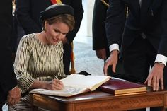 On July 9, 2015, Queen Mathilde of Belgium attended the 30,000th 'Last Post' ceremony at the Menin Gate (Menenpoort ) in Ypres.