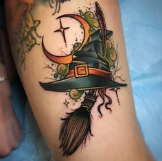 If you believe that Halloween is not just a festival but a lifestyle, then you should definitely get a Halloween tattoo. Here& the best Halloween tattoos. Future Tattoos, Love Tattoos, Beautiful Tattoos, Body Art Tattoos, New Tattoos, Tattoos For Women, Tatoos, Awesome Tattoos, Pretty Tattoos