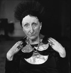 "Dame Edith Sitwell, 1959 by Jane Bown. From ""a life in photography – in pictures 