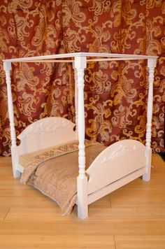 Canopy Bed for American Girl Doll