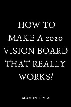 How to make a 2020 vision board that really works Here are some vision board ideas that will inspire and help you in achieving your goals and dreams for the coming year and beyond. Bullet Journal Vision Board, Inspirational Quotes For Entrepreneurs, Goal Board, Creating A Vision Board, Images And Words, 2020 Vision, Board Ideas, In This World, Dreams