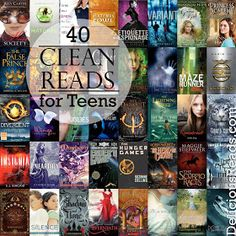 40 Clean Reads for Teens/Delicious Reads