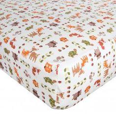 Woodland Tales Baby Crib Bedding, Lambs & Ivy   Boy or Girl - 582004v