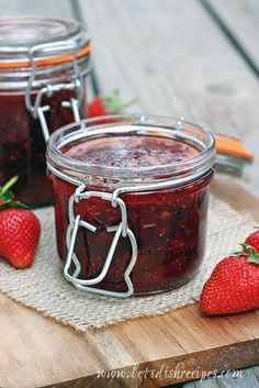 I've been wanting to try this recipe for Strawberry Chipotle Jam ever since I spotted it over at A Spicy Perspective. So when Amy from Garden Sweet Farms had strawberries available at the market ...