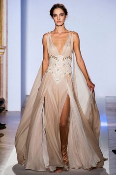 Perfect for a Grecian-inspired wedding // Bridal inspiration from Zuhair Murad