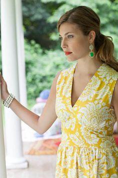 Sis Boom Jenny Women's Dress or Top Pattern by SisBoomPatternCo