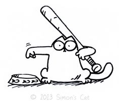 Simon's Cat – anyone who lives with a cat can relate to this one! Simons Cat, Gato Simons, Crazy Cat Lady, Crazy Cats, I Love Cats, Cool Cats, Cat Poems, Cat Calendar, Emoticons