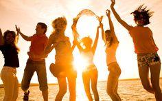 Am Strand von Zrce werden gerne Partys gefeiert