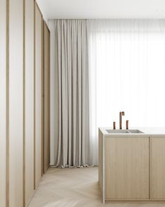 kitchen Apartment Interior Design, Kitchen Interior, Modern Interior, Kitchen Design, Tropical Interior, Arts And Crafts House, Beautiful Interiors, Home Kitchens, Architecture Design