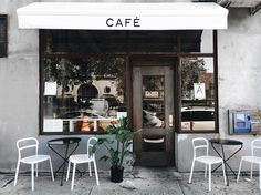 About: Trin A. Cute Coffee Shop, Coffee Shop Design, Cafe Design, Store Design, Cafe Interior, Interior Design, Café Bistro, Coffee Shop Aesthetic, Mini Cafe