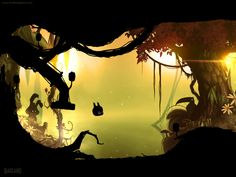 Badland - Frogmind - Check at the creatures on the background!