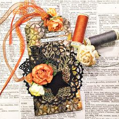 France Ringuette proCRAFTination blog: Tag #3 Scrap aux Puce & Entry to More than Words F...