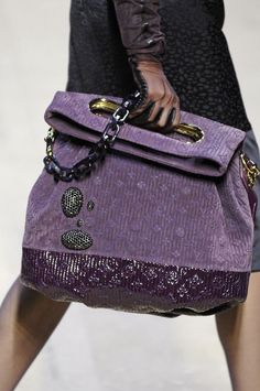 Purple via Louis Vuitton