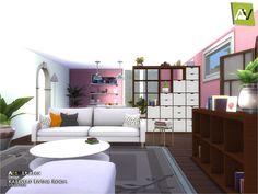 Karlstad Living Room by ArtVitalex at TSR • Sims 4 Updates