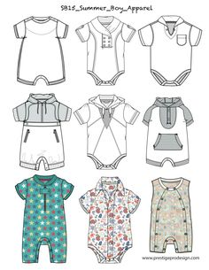 Paper Dolls Clothing, Doll Clothes, Baby Boy Outfits, Kids Outfits, Silhouette Mode, Fashion Design Sketches, Baby Design, Guys And Girls, Baby Wearing