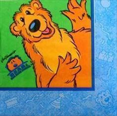 Bear In The Big Blue House Small Napkins Party