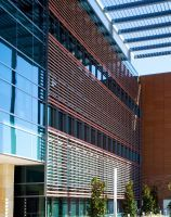 One of AIA's 12 Projects for National Healthcare Design Awards San Antonio Military Medical Center Healthcare Design, Medical Center, Design Awards, Willis Tower, San Antonio, Terracotta, Sustainability, Facade, Health Care