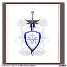 St. Michael's Sword Binders | Zazzle